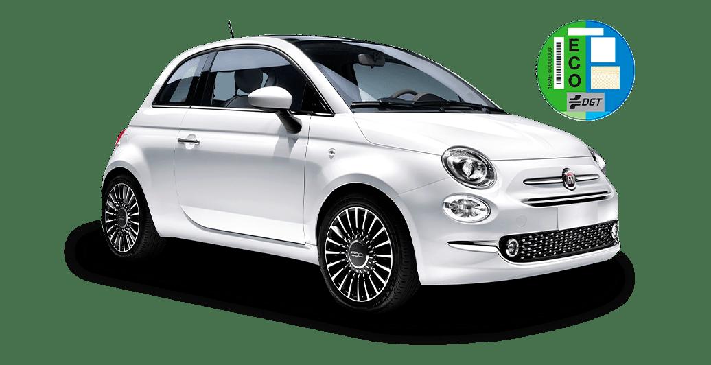 Vehículo Fiat 500 GLP Híbrido
