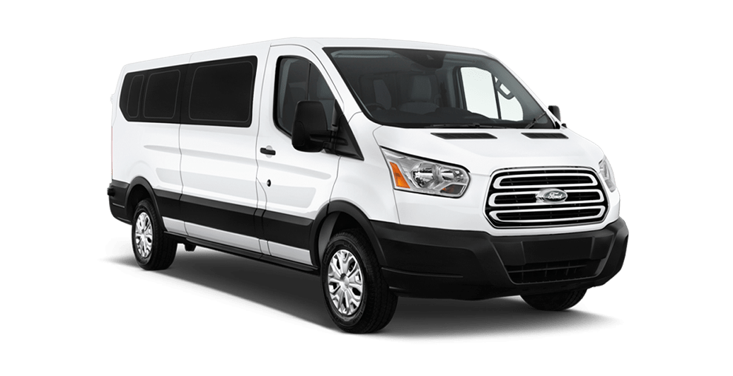 Vehículo Ford Transit 9 plazas